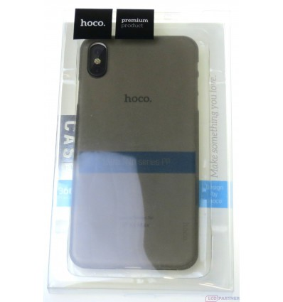 hoco. Apple iPhone Xs Max ultra thin cover gray