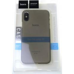 hoco. Apple iPhone X, Xs puzdro ultratenké šedá