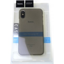 hoco. Apple iPhone X, Xs ultra thin cover gray