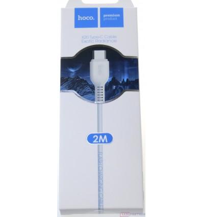 hoco. X20 type-c cable 2m white