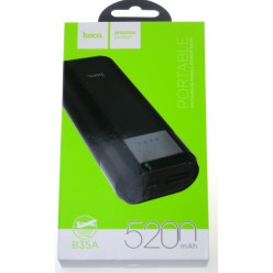 hoco. B35A powerbank 5200mAh black