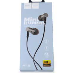 hoco. M48 earphone gray