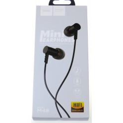 hoco. M48 earphone black