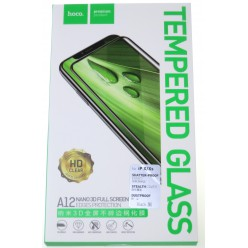 hoco. Apple iPhone X, Xs A12 tempered glass black