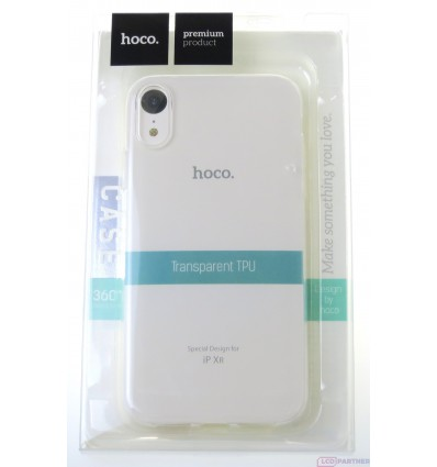hoco. Apple iPhone Xr transparent cover clear