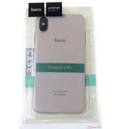 hoco. Apple iPhone Xs Max transparent cover gray