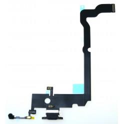 Apple iPhone Xs Max - Charging flex black - original