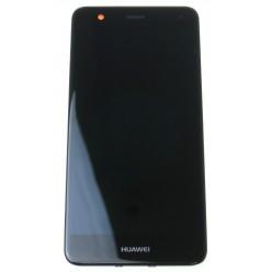 Huawei Nova Dual sim (CAN-L11) - LCD displej + dotyková plocha + rám + malé diely čierna - originál