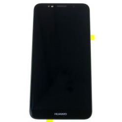 Huawei Y5 Prime (2018) - LCD displej + dotyková plocha + rám + malé díly černá - originál