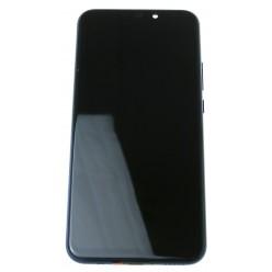 Huawei Mate 20 lite - LCD displej + dotyková plocha + rám + malé diely modrá - originál
