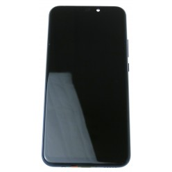 Huawei Mate 20 lite - LCD displej + dotyková plocha + rám + malé díly modrá - originál