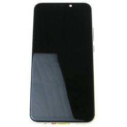 Huawei Mate 20 lite - LCD displej + dotyková plocha + rám + malé díly zlatá - originál