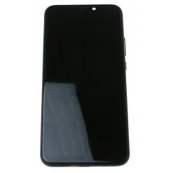 Huawei Mate 20 lite - LCD displej + dotyková plocha + rám + malé díly černá - originál