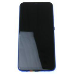 Huawei P Smart Plus - LCD displej + dotyková plocha + rám + malé díly fialová - originál