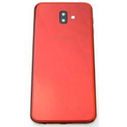 Samsung Galaxy J6 Plus J610F - Battery cover red - original