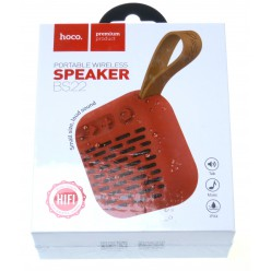 hoco. BS22 wireless speaker red