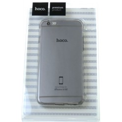 hoco. Apple iPhone 6, 6s transparent cover gray