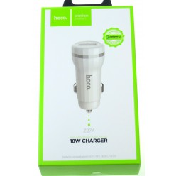 hoco. Z27a dual USB car charger white