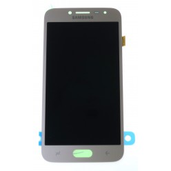 Samsung Galaxy J2 Pro (2018) J250F - LCD displej + dotyková plocha zlatá - originál
