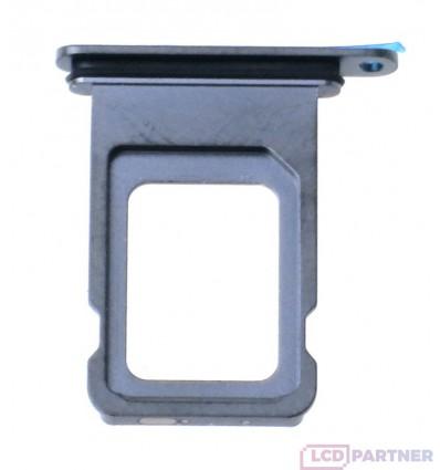 Apple iPhone Xs Max - Držiak sim šedá - originál