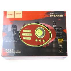 hoco. BS25 bezdrôtový reproduktor červená