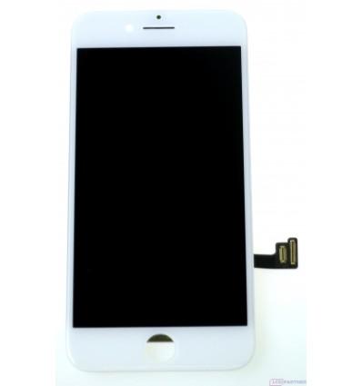 Apple iPhone 8 LCD displej + dotyková plocha biela - repas