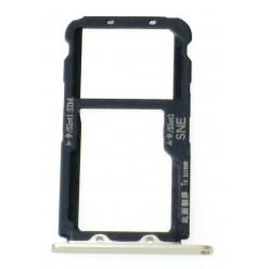Huawei Mate 20 lite - Držák SIM zlatá - originál