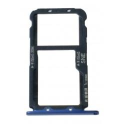 Huawei Mate 20 lite - SIM holder blue - original