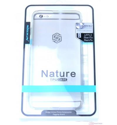 Apple iPhone 6 Plus, 6s Plus - Nillkin Nature TPU puzdro šedá