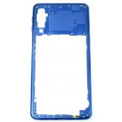 Samsung Galaxy A7 A750F - Rám stredový modrá - originál