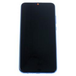 Huawei Honor 10 Lite (HRY-LX1) - LCD displej + dotyková plocha + rám + malé diely bledomodrá - originál