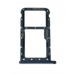 Huawei P20 Lite SIM and microSD holder black - original