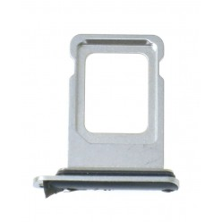 Apple iPhone Xs Max - Držák SIM stříbrná - originál