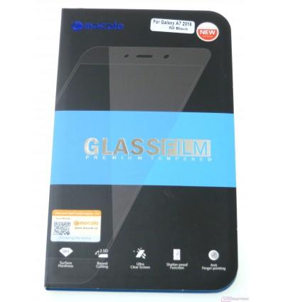 Mocolo Samsung Galaxy A7 A750F Temperované sklo 5D čierna