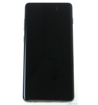 Samsung Galaxy S10 Plus G975F LCD displej + dotyková plocha + rám čierna - originál