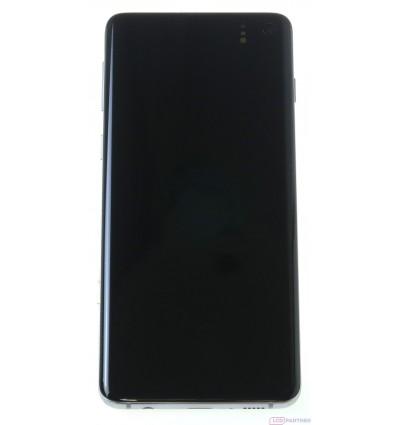 Samsung Galaxy S10 G973F LCD displej + dotyková plocha + rám biela - originál