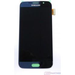 Samsung Galaxy S6 G920F - LCD displej + dotyková plocha černá - originál