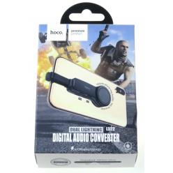 hoco. LS23 dual lightning digital converter black