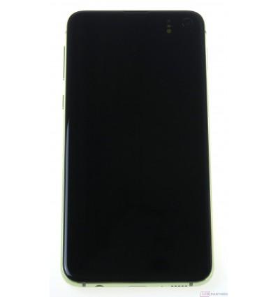 Samsung Galaxy S10e G970F LCD displej + dotyková plocha + rám žltá - originál