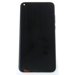 Huawei Honor View 20 LCD displej + dotyková plocha + rám + malé díly černá - originál