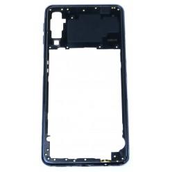 Samsung Galaxy A7 A750F Rám stredový čierna - originál