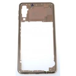 Samsung Galaxy A7 A750F Rám středový zlatá - originál