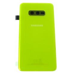 Samsung Galaxy S10e G970F Battery cover yellow - original