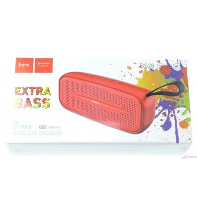 hoco. BS28 wireless speaker red