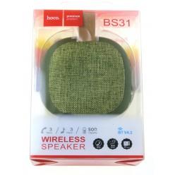 hoco. BS31 bezdrôtový reproduktor zelená