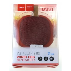 hoco. BS31 wireless speaker red