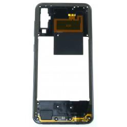 Samsung Galaxy A50 SM-A505FN Rám stredový čierna - originál