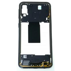 Samsung Galaxy A40 SM-A405FN Middle frame black - original
