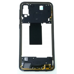 Samsung Galaxy A40 SM-A405FN Rám středový černá - originál