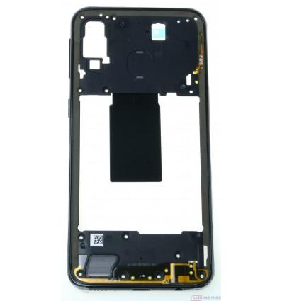 Samsung Galaxy A40 SM-A405FN Rám stredový čierna - originál